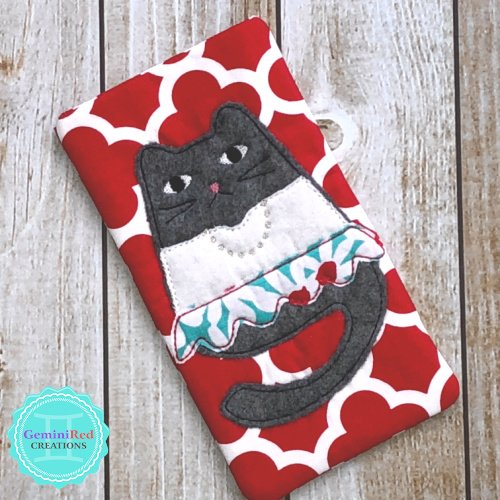 Pretty Kitty Eyeglass Case