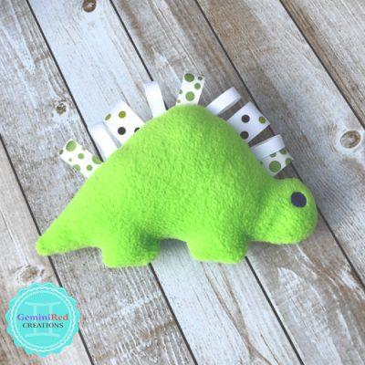 Dinosaur Fleece Softie