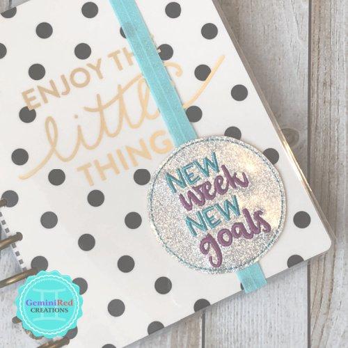 New Week New Goals Book Band