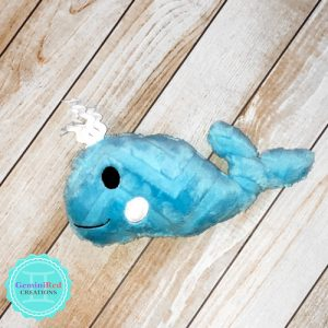Whale Plush Softie