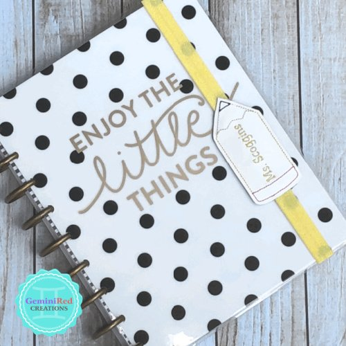 Pencil Planner Book Band
