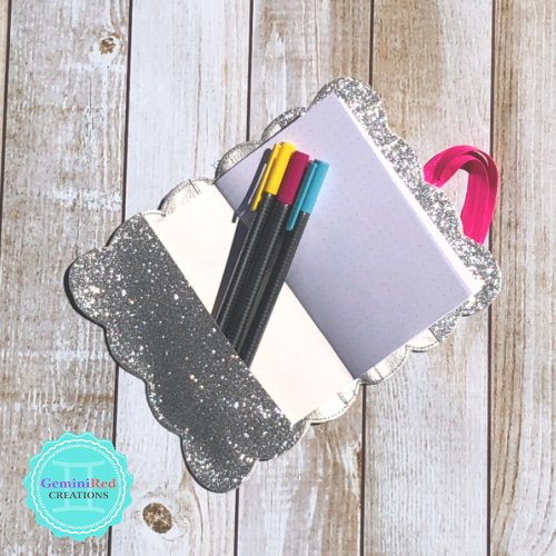 Scallop Edge Notebook Cover