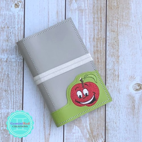 Silly Apple Notebook Cover