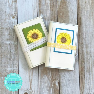 Sunflower Notebook Cover
