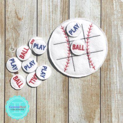 Baseball Tic Tac Toe Game