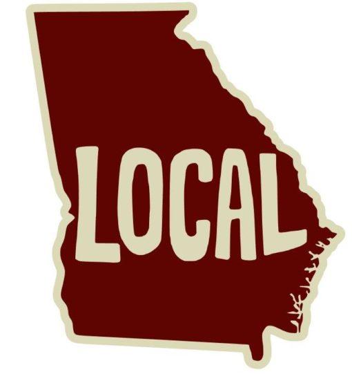 Georgia Local Sticker