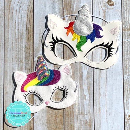 Kittycorn Mask