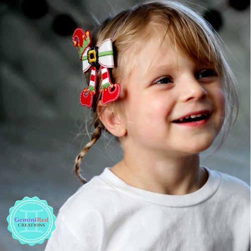 Elf Bow Hair Clip