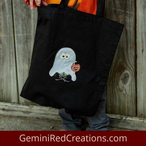 Halloween Bag Glow in the Dark Goblin