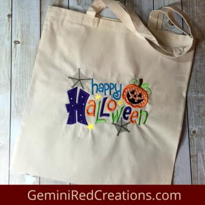 Halloween Bag Happy Halloween