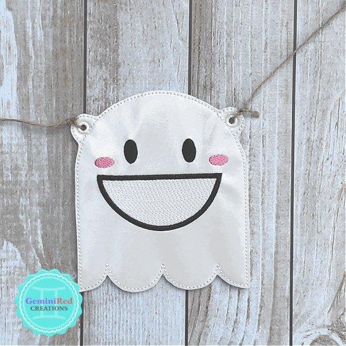 Halloween Ghost Banner Piece