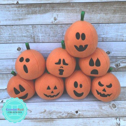Fleece Pumpkins