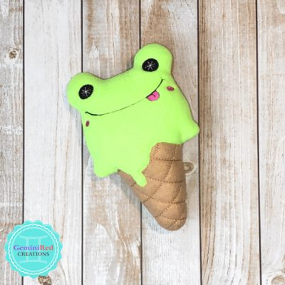 Ice Cream Pistachio Frog