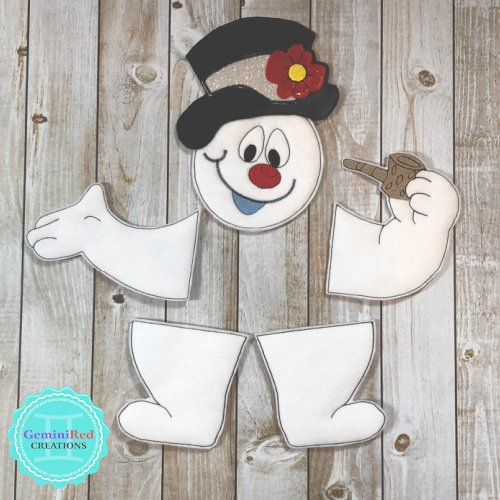 Chilly Snowman Wreath and Tree Kit