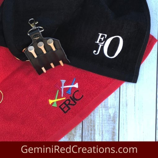 Golf Towels {monogrammed} 16x26