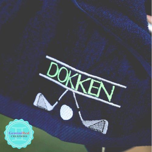 Golf Towels {monogrammed} 11x18