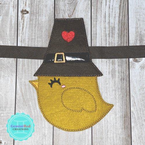 Pilgrim Chick Banner Piece