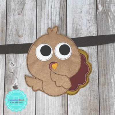 Turkey Banner Piece