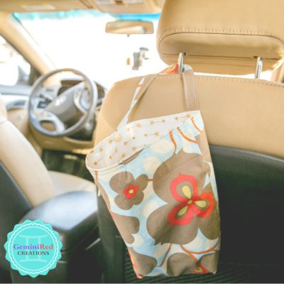 Reusable Car Litter Bag