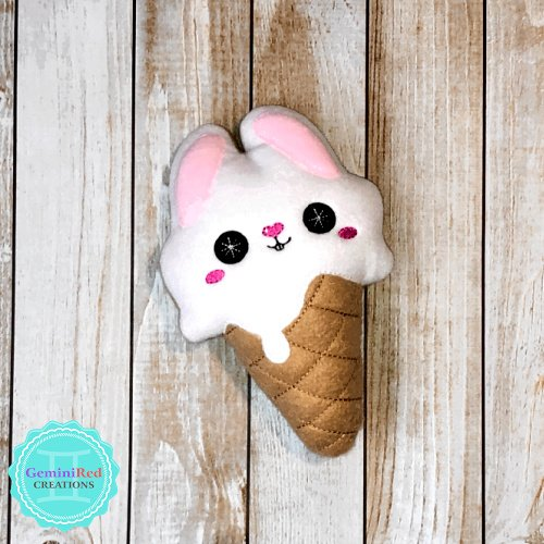 Ice Cream Coconut Cream Bunny