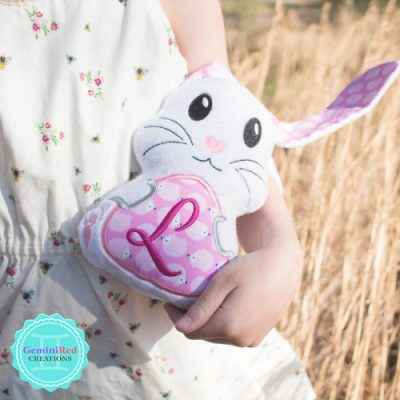 Floppy Eared Stuffed Bunny {Awake}