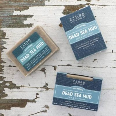 Rinse Bath & Body - Dead Sea Mud Soap