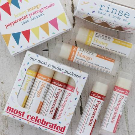 Rinse Bath & Body - Most Celebrated Pucker Stick 4 pack