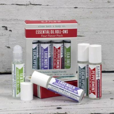 Rinse Bath & Body - Roll-On Essential Oil 4 pack