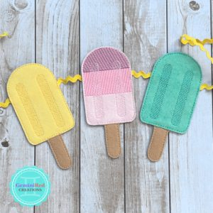Popsicle Banner Piece