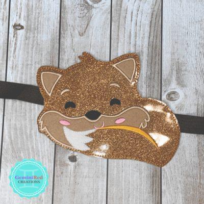 Woodland Fox Banner Piece