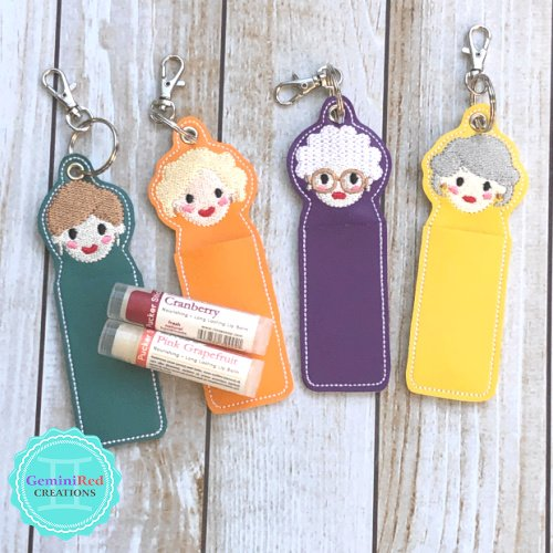 Golden Girls Lip Balm Holder