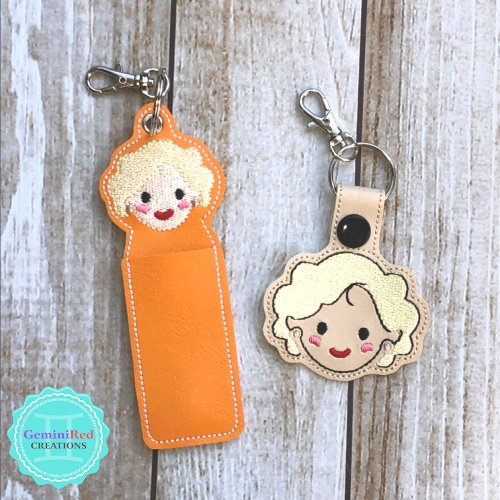 Golden Girls Rose Lip Balm Holder