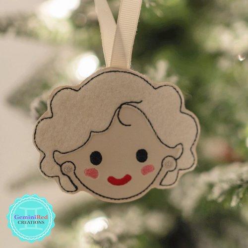 Golden Girls Christmas Ornament Set