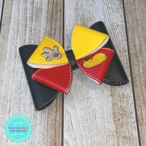 Mouse Inspired Loopy Hair Clip