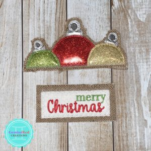 Vintage Truck Door Hanger – Christmas Pieces
