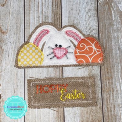 Vintage Truck Door Hanger - Easter Pieces