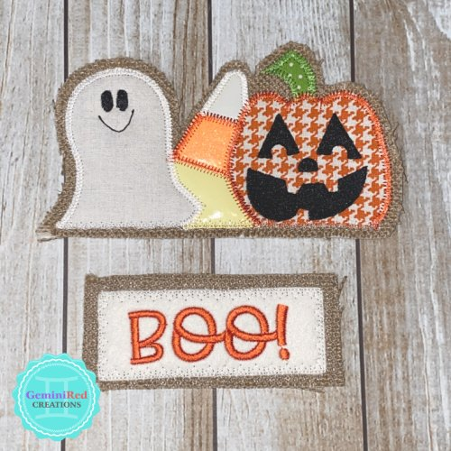 Vintage Truck Door Hanger - Halloween Pieces