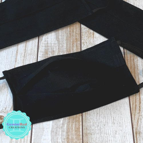 Fabric Face Mask with Filter Pocket