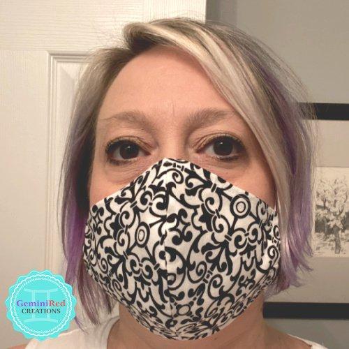 Fabric Contoured Face Mask