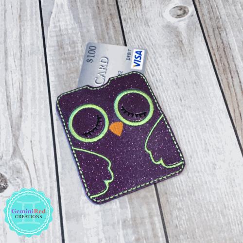 Owl Gum | Gift Card Sleeve