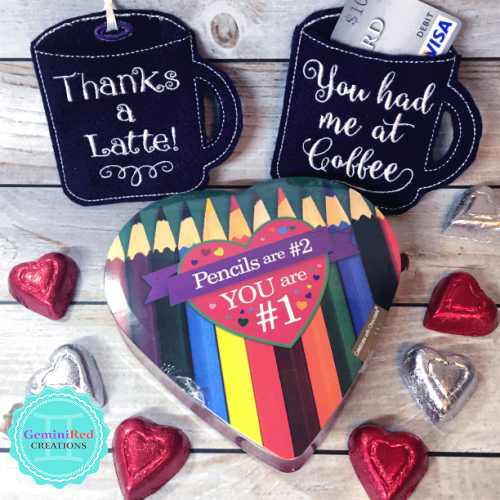 Coffee Mug Gift Card Holder