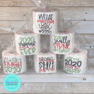 Embroidered Toilet Paper {2020}
