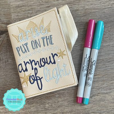 Armour of Light Mini Notebook Cover