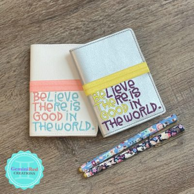 Be the Good Mini Notebook Cover
