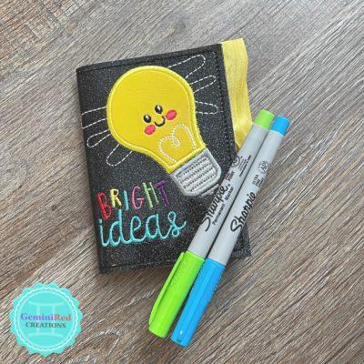 Bright Ideas Mini Notebook Cover