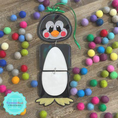 Penguin Dangle Door Hanger